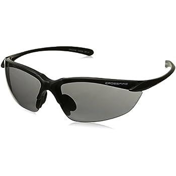 514bc924b5 Crossfire Eyewear 16428 AR3 Half Frame Safety Glasses - - Amazon.com