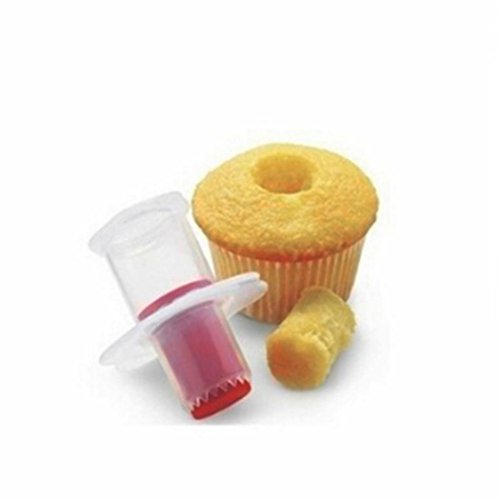 Cokil Cake Punch Hole Decorative Divider Filling Tool Cupcake Corer Remover Candy Making -