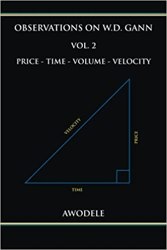 Observations On W.D. Gann Vol. 2: Price   Time   Volume   Velocity (Volume  2): Awodele: 9780692666524: Amazon.com: Books