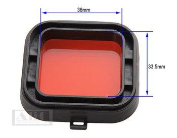 Hero4/filtro UV Diving redfilter GoPro buceo Filtro de luz rojo Diving Filtro Filtro rojo para Gopro Hero3/