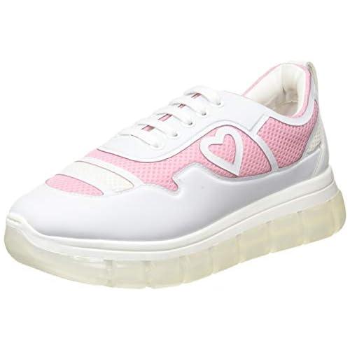 chollos oferta descuentos barato Love Moschino Ja1522 Zapatillas de Gimnasia para Mujer Multicolor Multicolore 60a 41 EU