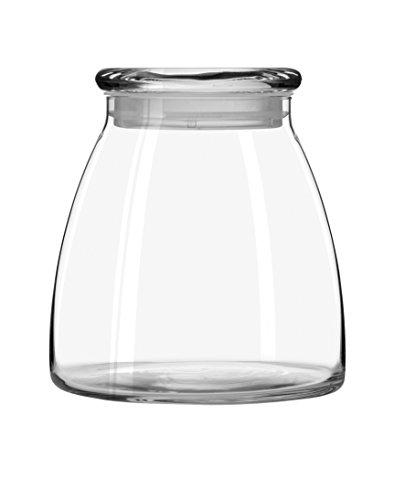 Libbey 62-Ounce Vibe Storage Jars, Set of 4