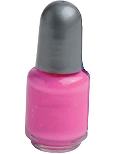 Neon Pink Nail Polish Pretty Princess Punk Glamour