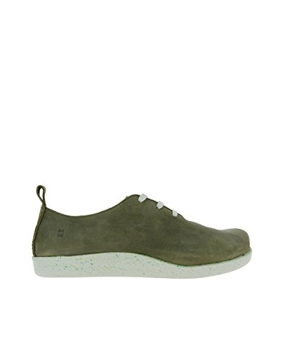 El Naturalista N5110 Pleasant KAKI ECO/KOI Grey Woman Shoes Laces NkBdGLl