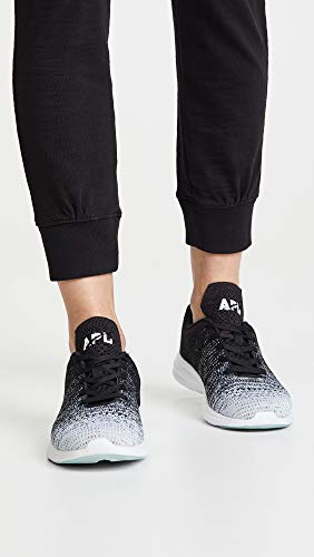 APL Black White Athletic Techloom Heather Running Propulsion Pro Grey Men's Sneakers Labs aragxA4P