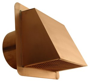 Amazon Com 6 Quot Hooded Copper Dryer Vent With Damper Home