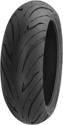 Shinko 016 Verge 2X Rear Tire - 190/50ZR17, Position: Rear, Tire Size: 190/50-17, Rim Size: 17, Load Rating: 73, Speed Rating: W, Tire Type: Street, Tire Application: Sport 87-4098