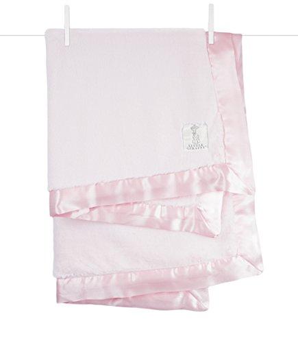 Little Giraffe Luxe Stroller Baby Blanket, Pink, 29