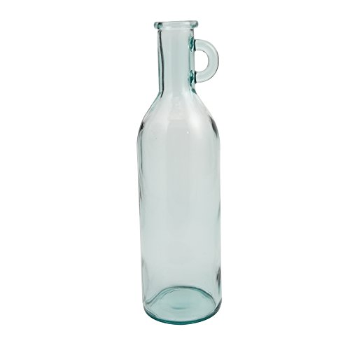Mud Pie 4735005C Bistro Clear Tall Recycled Spanish Glass Vase ()