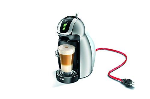 DeLonghi America EDG466S Nescafe Dolce Gusto Genio 2 Espresso and Cappuccino Machine, Silver