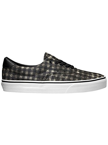 Vans Unisex ERA 59 Skate/Casual Sneaker Shoes (M9.5/W11, Distressed Plaid Black)]()