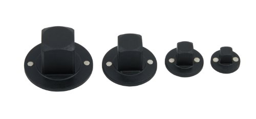 T&E Tools 76346 4 Piece Reducing Socket. Adaptor Set 1/4