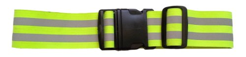 LW (Living Water Reflective Belt Sash Band Elastic Safety...