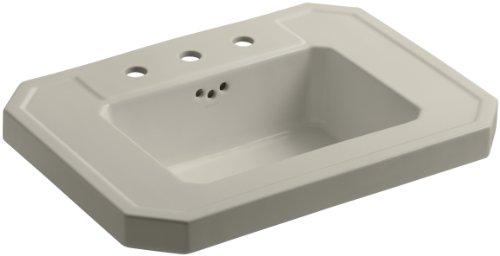 KOHLER K-2323-8-G9 Kathryn Bathroom Sink Basin with 8
