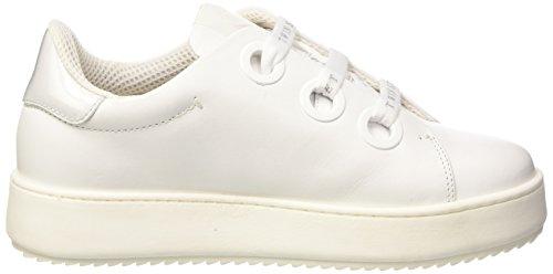 Donna Cs7ph3 Sneaker Bianco Collo Twin Bianco a Basso Seta Set EY5qxxgwO
