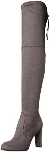 Sam Edelman Women's Kent Boot, Dark Grey, 10 M US (Boot Highland Suede)