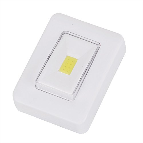 Iulove LED Night Light COB LED Cordless Switch Wall Light Battery Operated Under Cabine