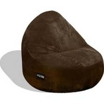 Charmant Elite Products Mod Fx Sitsational 1 Seater Bean Bag Chair In Chocolate