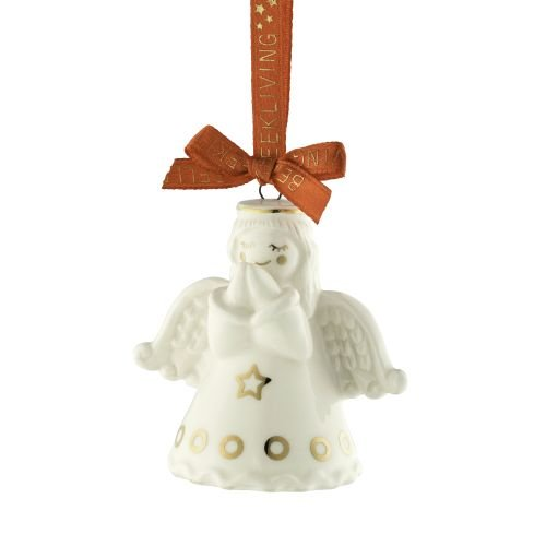 Belleek Praying Angel Mini Ornament