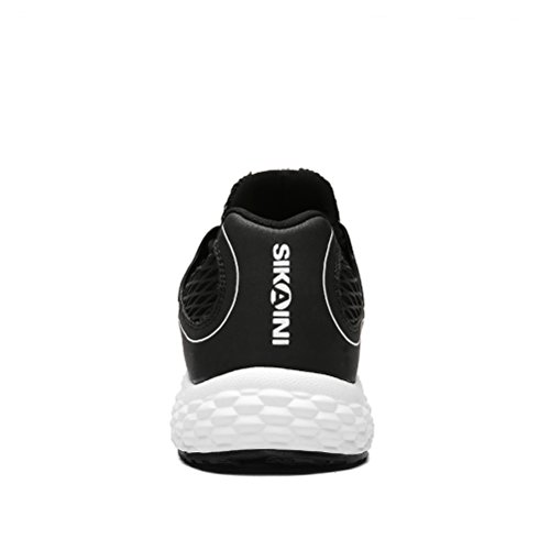 DAIVON Männer Frauen Breathable Sportschuhe Sportschuhe Casual Fashion Sneakers Schwarz