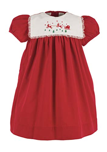 Carriage Boutique Girls Reindeer Short Sleeve -