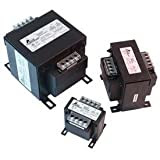 Hubbell Acme Electric AE020100 Industrial Control Transformer, Encapsulated, 200/220/440 x 208/230/460 x 240/480 Primary Volts - 23/110 x 24/115 x 25/120 Secondary Volts, 100 VA