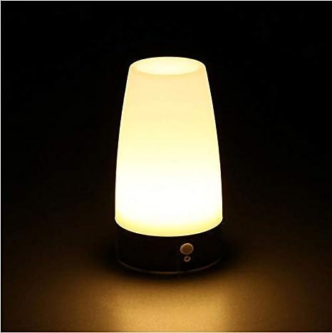 Lampada Da Tavolo A Led A Batteria Con Retroilluminazione A Led Amazon It Illuminazione