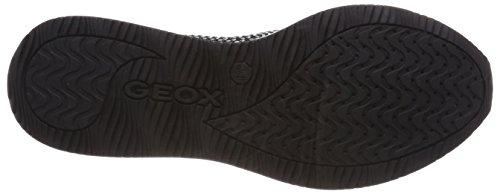 Geox Dames Omaya Zip-up Hardloopschoen Wit
