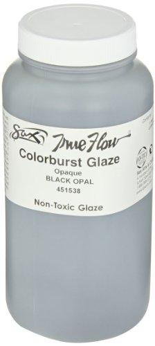 Sax True Flow Colorburst Glazes - 1 Pint - Black Opal