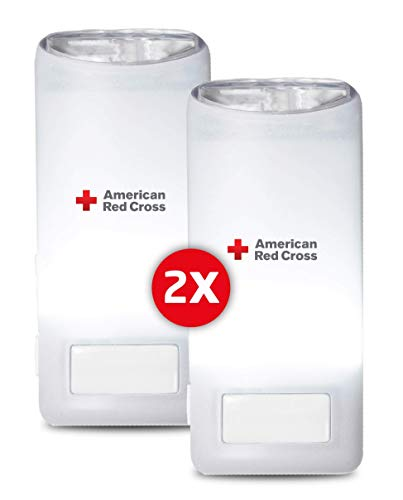 Eton Motion Activated Red Cross Blackout Buddy Color - Double Pack ARCBB202C-DBL White (Certified Refurbished)