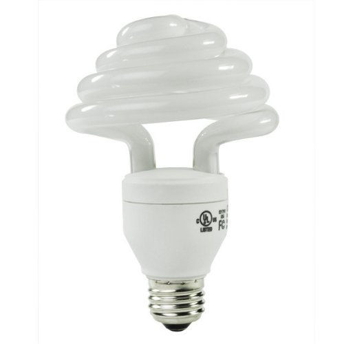 Energy Miser FE-US-30W-50K - 30 Watt CFL Light Bulb - Compact Fluorescent - - 125 W Equal - 5000K Full Spectrum - Min. Start Temp. 0 Deg. F - 80 CRI - 67 Lumens per Watt - 12 Month Warranty