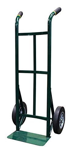 (Envision Steel Heavy Duty Hand Truck, Twin Handles, Commercial, 600 Lb. Capacity, 10