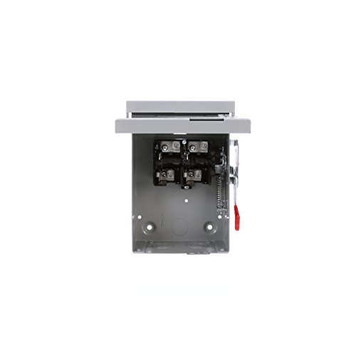 SIEMENS LNF222R 60 Amp, 2 Pole, 240-Volt, Non-Fused, Outdoor Rated by Siemens