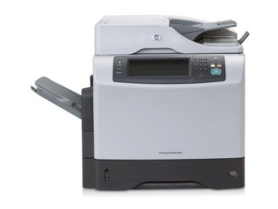 HP Products - HP - LaserJet M4345 Laser Printer/Copier/Color Scanner - Sold As 1 Each - Delivers 45 b/w printed pages/min. - 1200 x 1200 dpi resolution. - First page out in 10 seconds. - Network ready. - Multifunction printing, copying and scanning.
