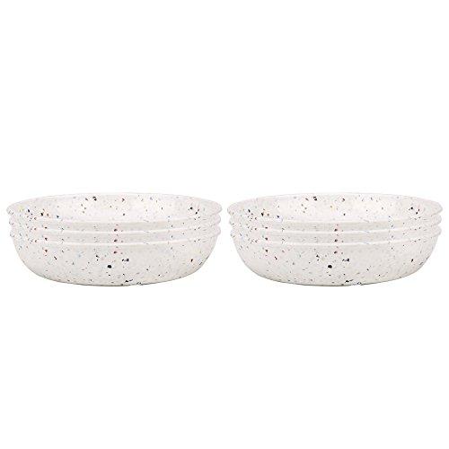 Solid Pasta Bowl - Zak Designs 1313-4231-ISET Confetti Pasta Bowls, 6-pc Pasta Bowl Set