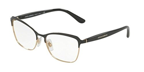 Eyeglasses Dolce & Gabbana DG 1286 01 BLACK/PINK - And Dolce Pink Gabbana Glasses
