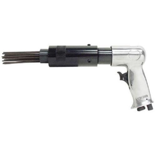 Air Pneumatic Needle Scaler Tool Pistol Grip Rust Slag Corrosion Remover Deburr