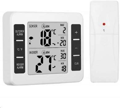 Termómetro Del Refrigerador, Canales Termómetro Con Sensores ...