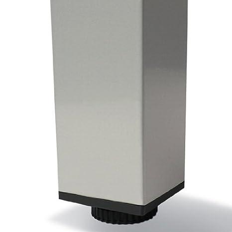 Miadomodo - Aluminio Conjunto Muebles de Jardin - Juego de 9 Piezas - Gris Claro