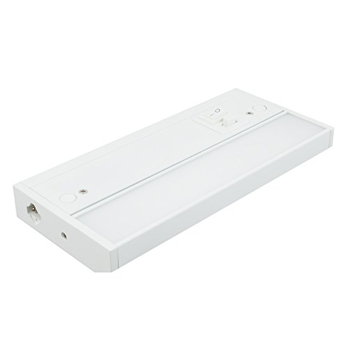 American Lighting 3LC-8-WH LED 3-Complete Dimmable Under Cabinet Fixture, Switchable Color Temperatures, 8-inch, - Cabinet Complete