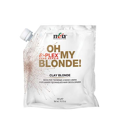ITLY OH MY BLONDE CLAY BLONDE FREE HAND DECOLORIZER POWDER - 14.10oz by ITLY