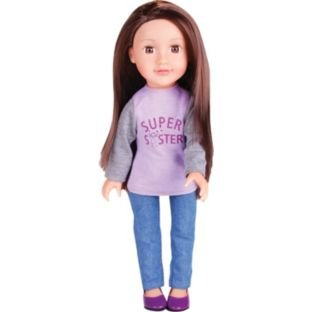 designafriend little sister holly doll amazon co uk toys games