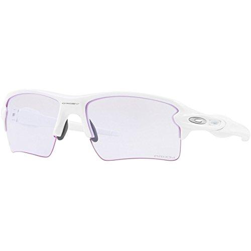 Oakley Men's Flak 2.0 XL Sunglasses,Polished White
