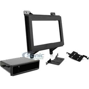 Install Dash Kit Gmc Jimmy - Metra 99-3045 GM Small Truck 1994-97 DIN and Double DIN Radio