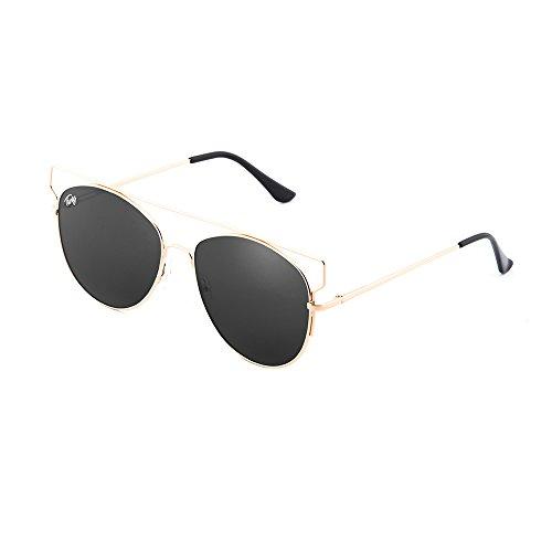 sol Gafas TWIG de TZARA Bronce Negro degradadas mujer espejo HzFaqz