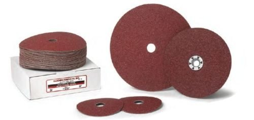 7 x 7/8 60 Grit Resin Fiber Sanding Disc, Aluminum Oxide 100/Pack by Random Products Inc