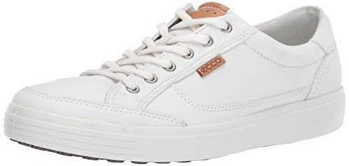 ECCO Men's Soft 7 Sneaker White 47 M EU (13-13.5 US)