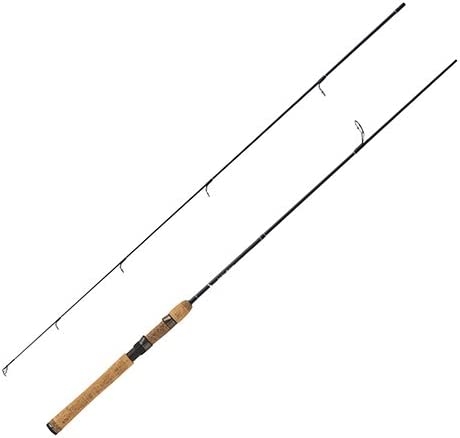 Eagle Claw BD6LS2 Diamond Series Im-6 Graphite Spinning Rod, 6 Length, 2 Piece, Light Power