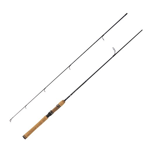 (Eagle Claw BD6LS2 Diamond Series Im-6 Graphite Spinning Rod, 6' Length, 2 Piece, Light Power )