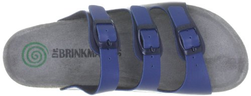 Dr. Sandalo Con Plantare Brinkmann Blu Blu